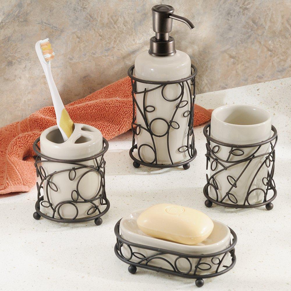 Interdesign Twigz Bath Accessory Set Soap Dispenser
