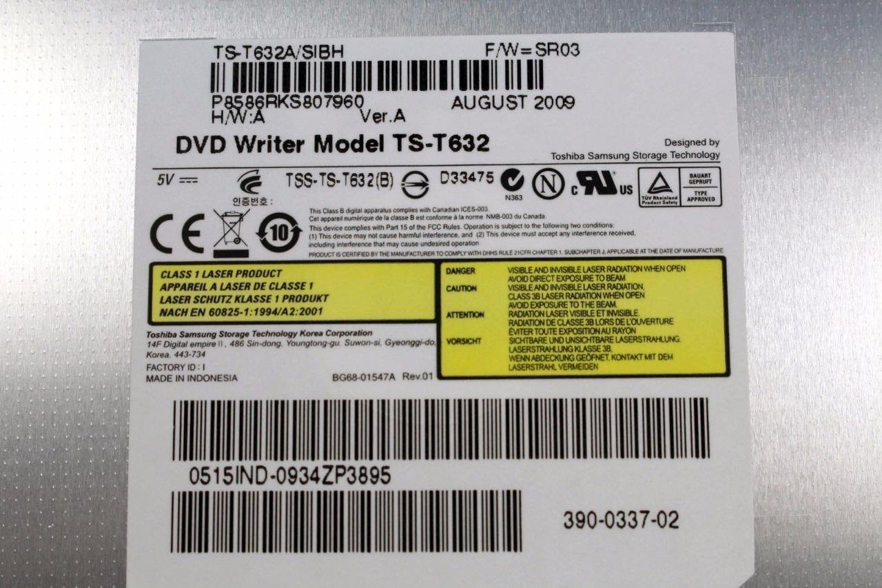 Toshiba Satellite P200 TSST TS-L632P Drivers Windows