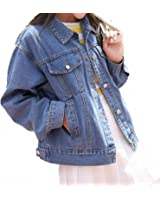 Oversize Short Jeans Jacket For Women Spring Autumn Long Sleeve Casaco Feminino BF Style Casual Loose