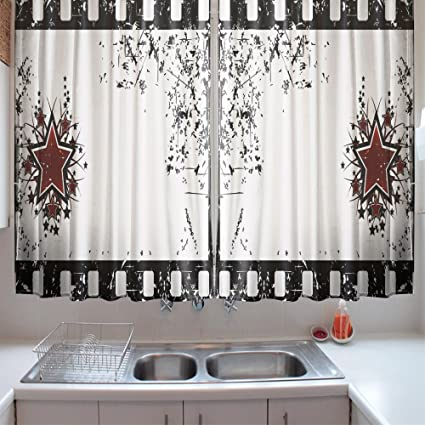 Black White Kitchen Curtains 2 Amazing Decorating Ideas