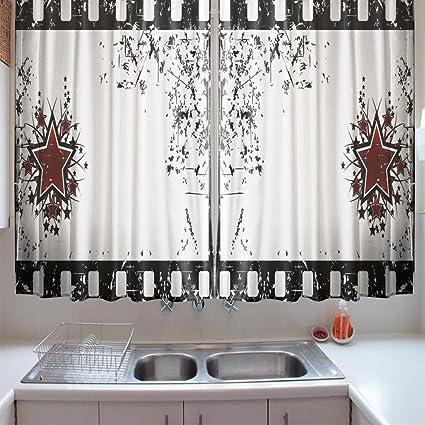 Black White Kitchen Curtains 2 Amazing Decorating Ideas