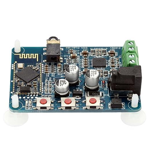 2 opinioni per KKmoon Wireless Bluetooth 4.0 Scheda di Ricevitore di Audio Modulo Amplificatore