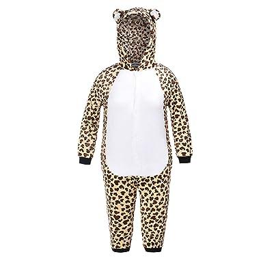 29a50feef5674 Matt Viggo-Pyjama Combinaison-Grenouillère Unisexe Déguisement Animal  Flanelle Hiver Enfant Fille et Garçon