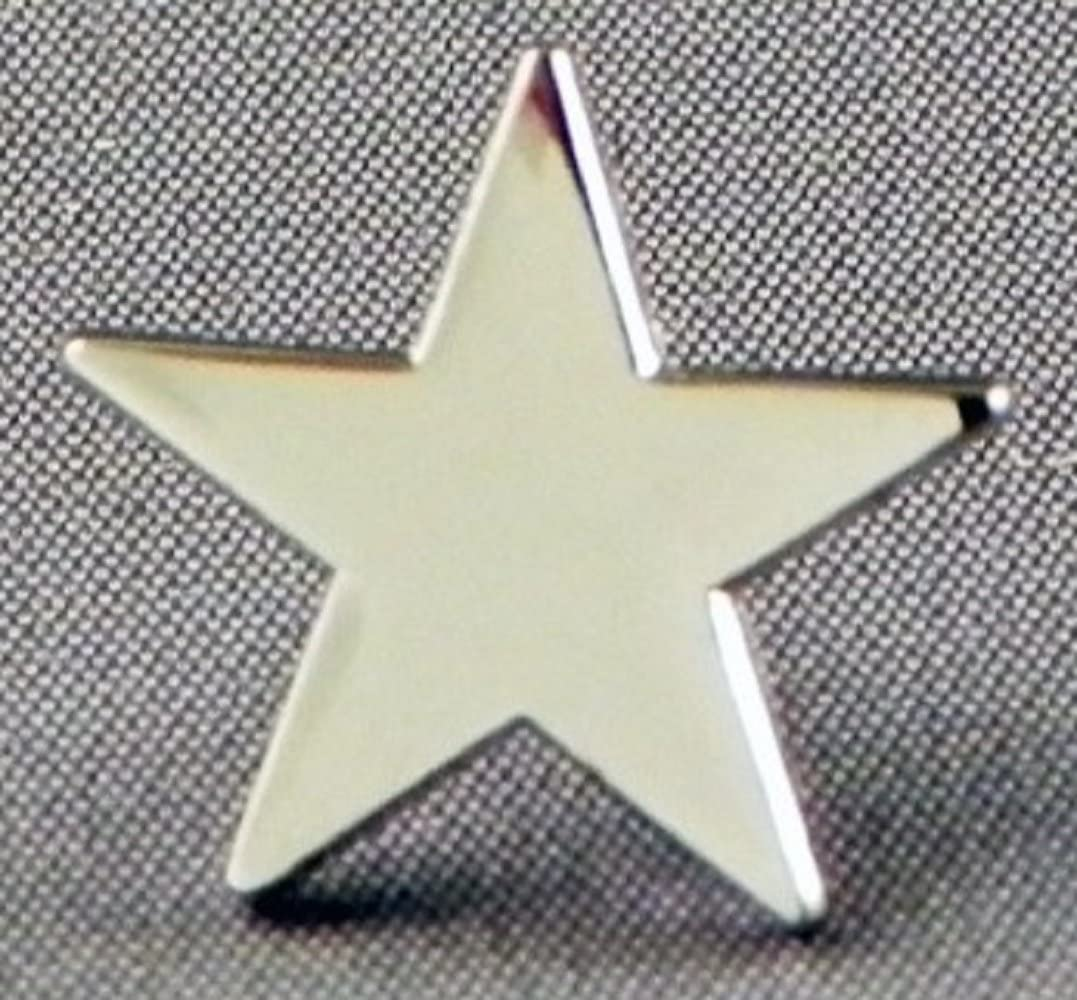 3D Star Lapel Pin Badge Five-pointed in Brooch Schools