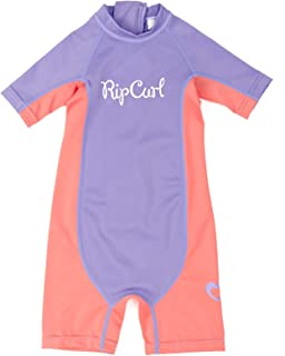 Rip Curl UV Suits Young Girl Short Sleeve UV Segue – Purple