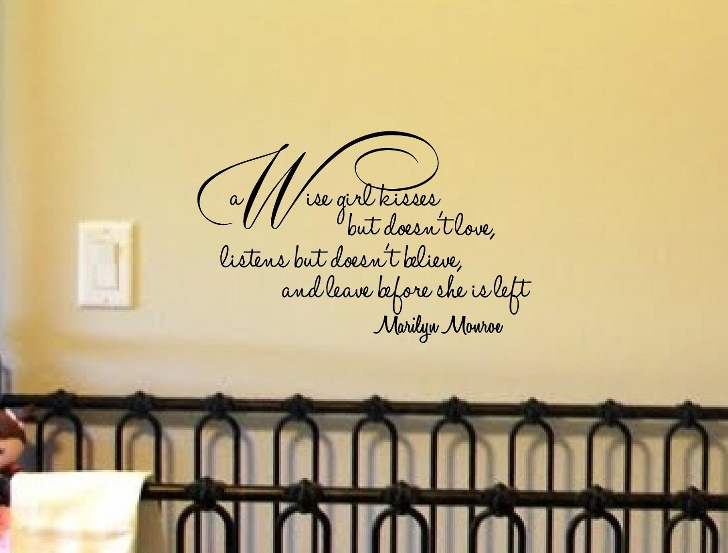Cool quotes for walls decor pictures inspiration the for Decoration quotes