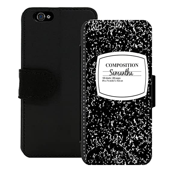 e3e10e68d Image Unavailable. Image not available for. Color: Personalized Wallet Case  for iPhone Composition Book ...