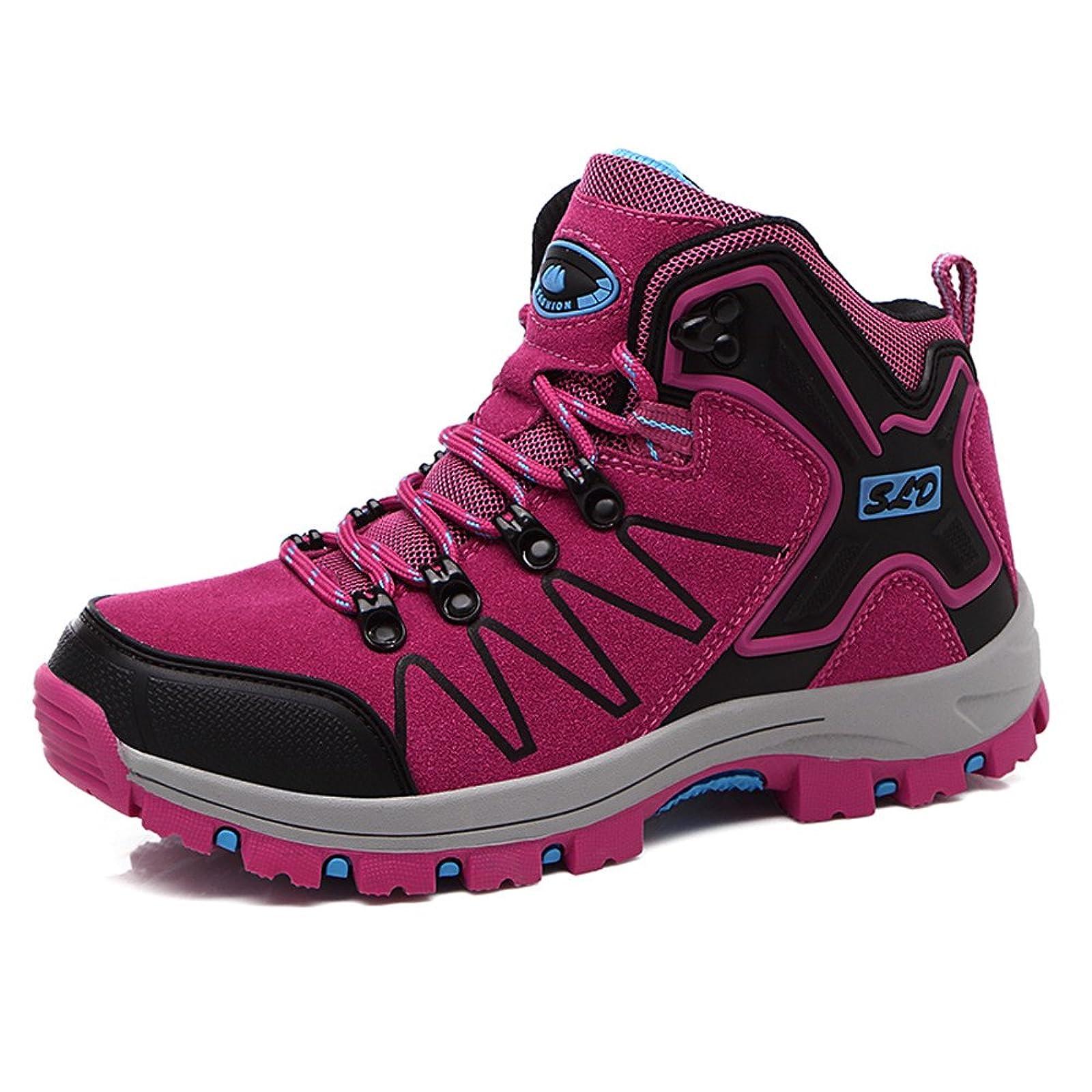 FEOZYZ Womens Hiking Boots Trekking Shoes Anti- QLMXZY's 1008 - 9