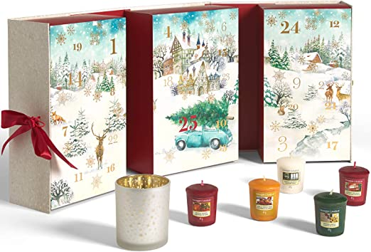 Magic Of Christmas Location Change 2020 Amazon.com: Yankee Candle Advent Calendar 2020 Book | Christmas
