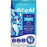 Solid Gold - Wolf Cub with Real Bison and Oatmeal - Natural Large Breed Puppy Food - Potato Free - DHA and Calcium Support -