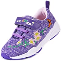 EIGHT KM Boys and Girls Toddler Kids EKM7006 Lightweight Breathable Embroidered 100% Cotton Jersey Designer Trainers…