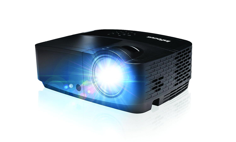 InFocus IN2128HDx - DLP projector - portable - 3D - 4000 lumens - Full HD (1920 x 1080) - 16:9 - HD 1080p B01L20FFX8