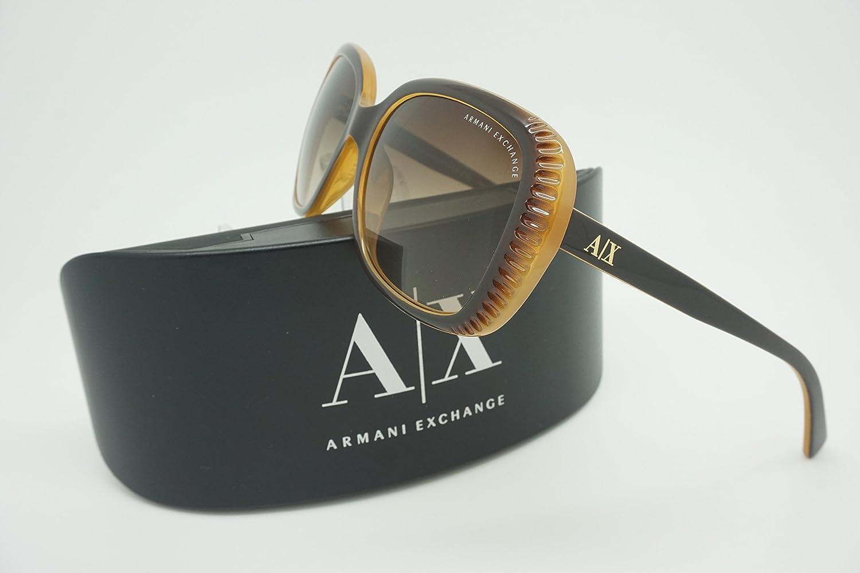 32cb949ebaa Armani Exchange Women s Sunglasses AX 4014 57mm Phantom Sand 806213   Amazon.co.uk  Clothing
