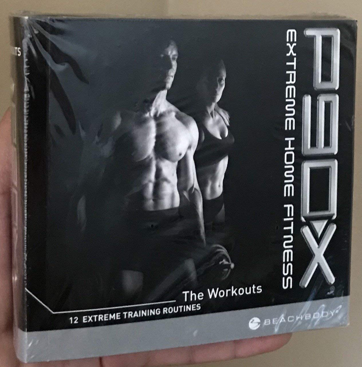P90X EXTREME HOME FITNESS WORKOUT 12 TRAINING ROUTINES CARDIO INTERVALS TONY HORTON