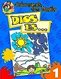 Coloreando con Jesus: Dios es... (Coloring with Jesus: God Is...) (Coloreando Con Jesus (Numbered)) (Spanish Edition)