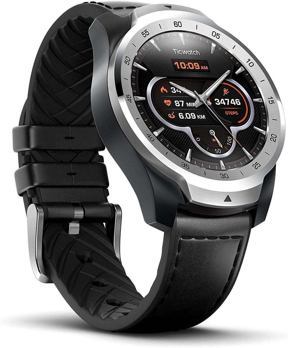 Reloj Inteligente TicWatch Pro con Bluetooth, Pantalla en Capas ...