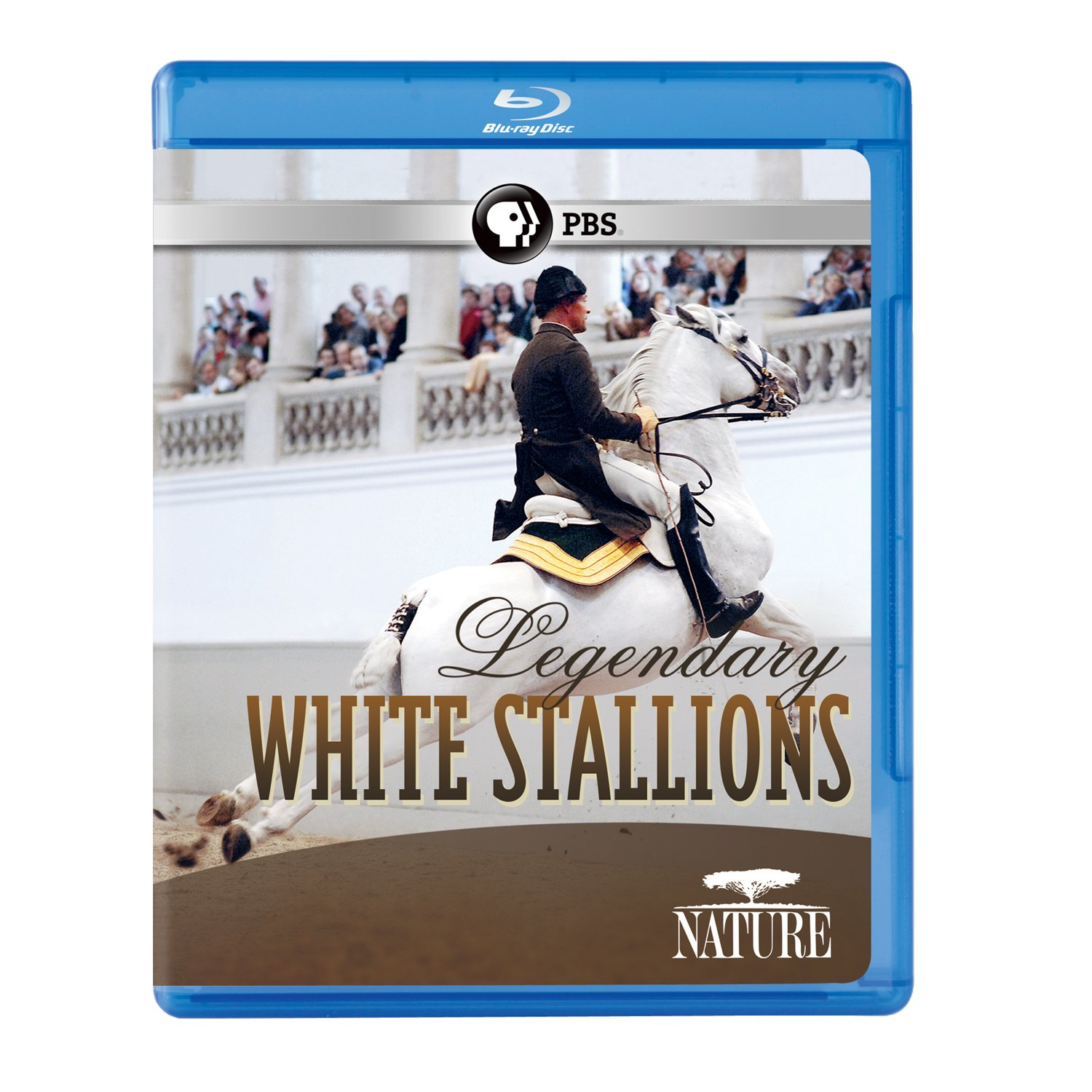 Blu-ray : Nature: Legendary White Stallions (Blu-ray)