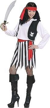 WIDMANN Widman - Disfraz de pirata para mujer, talla M (S/02762 ...