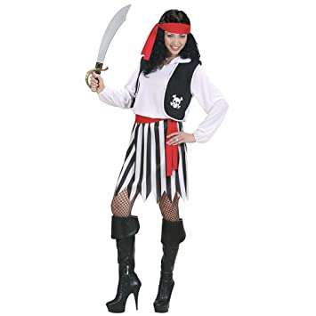 WIDMANN Widman - Disfraz de pirata para mujer, talla M (S/02762)