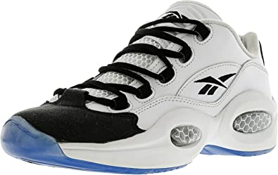 e0b1b3bd3ac Reebok Boys Question Low R13 Sneakers With Ice Sole Grade School White Black  (4)