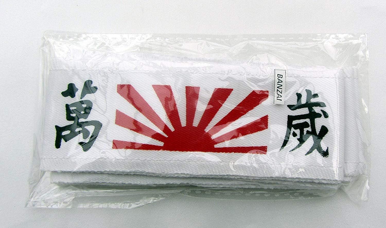 HACHIMAKI New Takashi KENDO Tenugui Samurai 200cm KANJOU Hachima Will Power