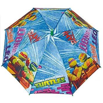 Paraguas automatico antiviento Tortugas Ninja 48cm
