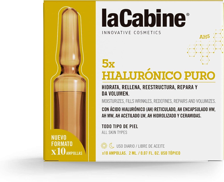 """La Cabine Ampollas Hialur""""Nico Xh5 10 X 2 Ml - 1 Unidad"""