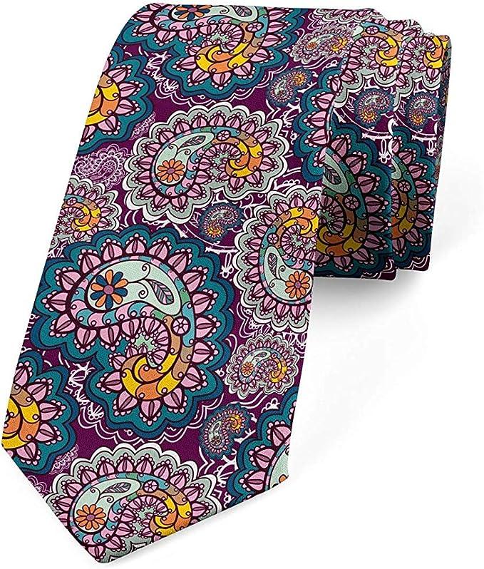 Corbata, arreglo animado vintage, corbata de vestir, ciruela ...