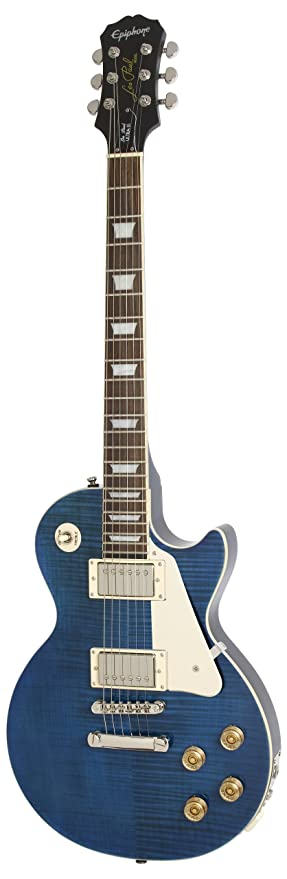 Epiphone Les Paul Ultra-III - Guitarra eléctrica, color midnight sapphire