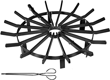 12 Inch Round Bar SteelFreak 30 Inch Heavy Duty Poker for Fire Pit and Fireplace