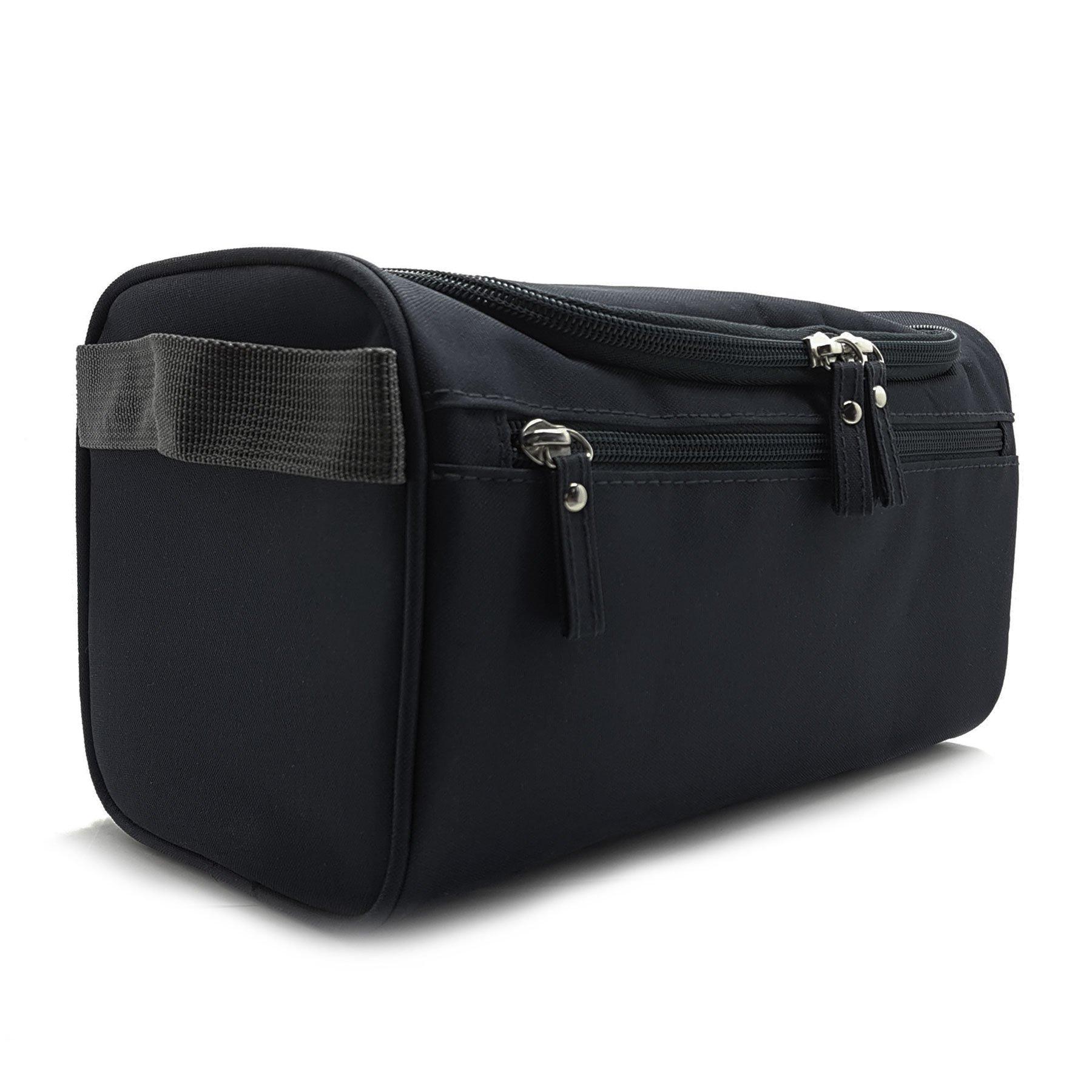 Mister Bag Toiletry Bag Hanging Travel Toiletries Bag, Black