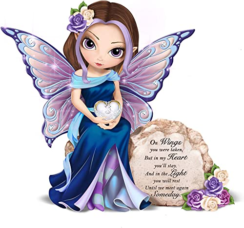 The Hamilton Collection Jasmine Becket-Griffith Message to Heaven Hand-Painted Fairy Figurine