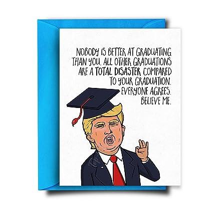amazon com funny graduation card grad card congratulations