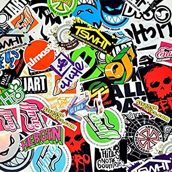 Buy Any 4 Get 1 FREE!!! Sticker Deal - Laptop Stickers - Skateboard