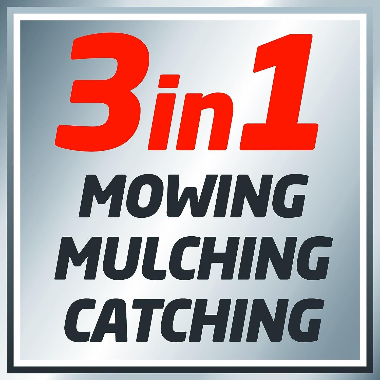 Mulchfunktion 6 Schnitth/öhen Radantrieb 51 cm Schnittbreite Highwheeler Einhell GC-PM 51//1 S HW B/&S Benzin-Rasenm/äher 70 L Fangsack 2,22 kW
