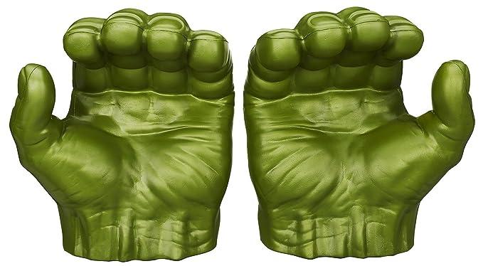 Amazon.com: Marvel Avengers, Puños de Hulk Gamma ...