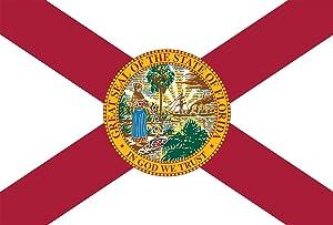 Toland Home Garden Florida State Flag 28 x 40 Inch Decorative USA House Flag