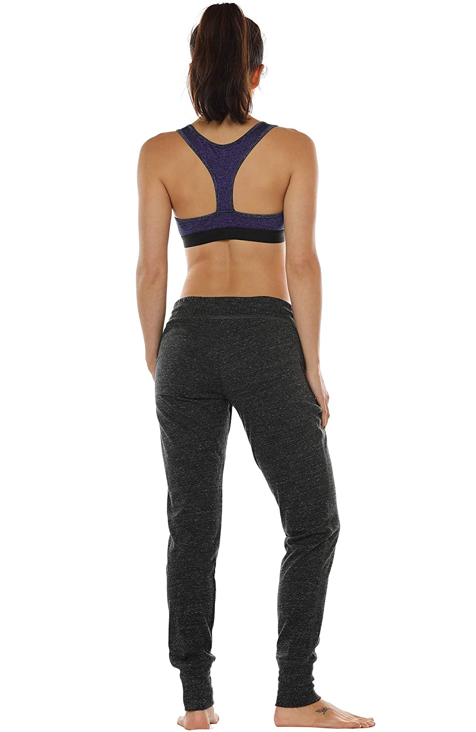 Running Yoga Bra Womens Activewear Top icyzone Racerback Sports Bras for Women Workout Clothes