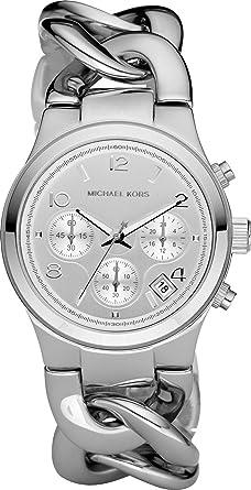 Michael kors damenuhren silber  MICHAEL KORS Uhren - MK3149, Damenuhr: Amazon.de: Uhren