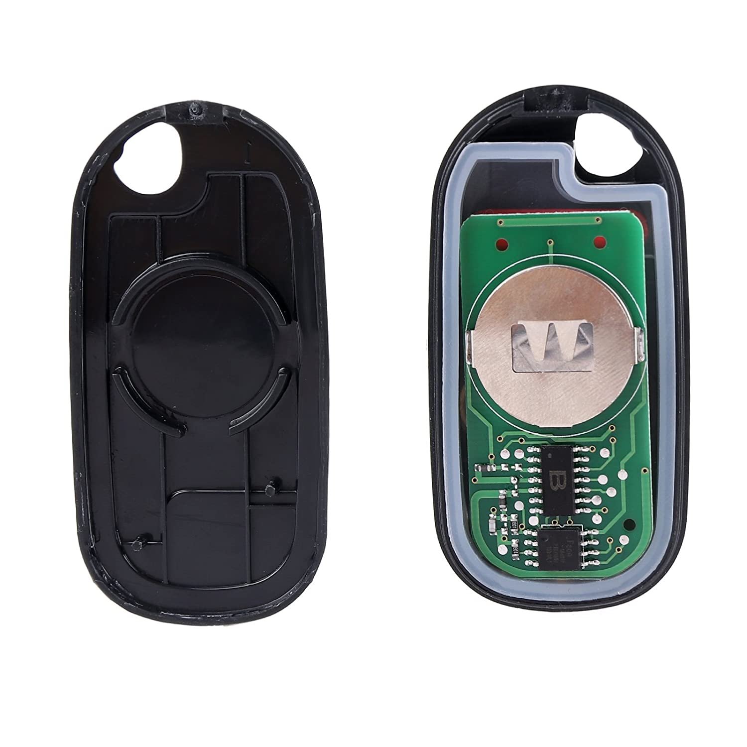 SCITOO 2 Keyless Entry Remote Key Fob Clicker Control 3 Buttons Replacement fit Honda Civic Pilot NHVWB1U523