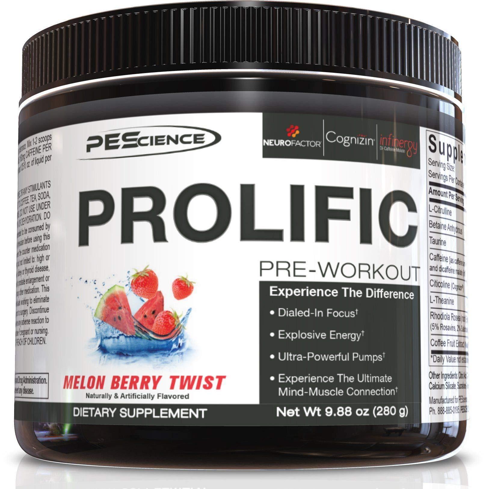 PEScience Prolific, Melon Berry Twist, 20 Serving