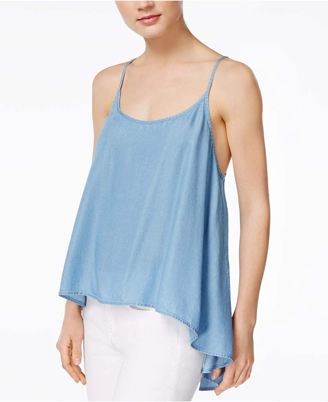 Rachel Roy Womens Layered Look Knit Blouse