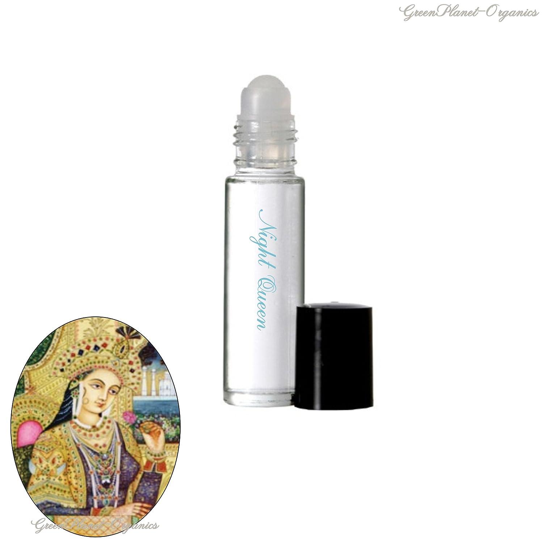 Jasmine Perfumed Oil (Choose From 3 Types Of Jasmine) (Night Queen (Night Blooming Jasmine))