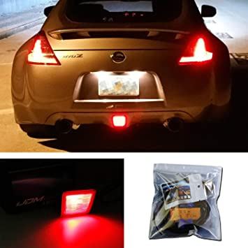 IJDMTOY 27 SMD Brilliant Red LED Conversion Kit For 2009 2017 Nissan 370Z,
