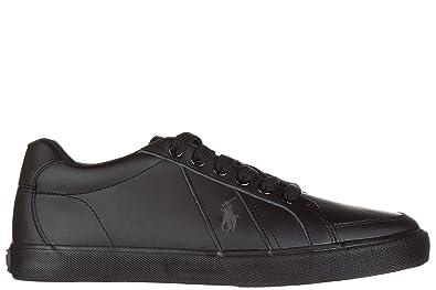 new style 08911 d5600 Polo Ralph Lauren Herrenschuhe Herren Leder Schuhe Sneakers ...