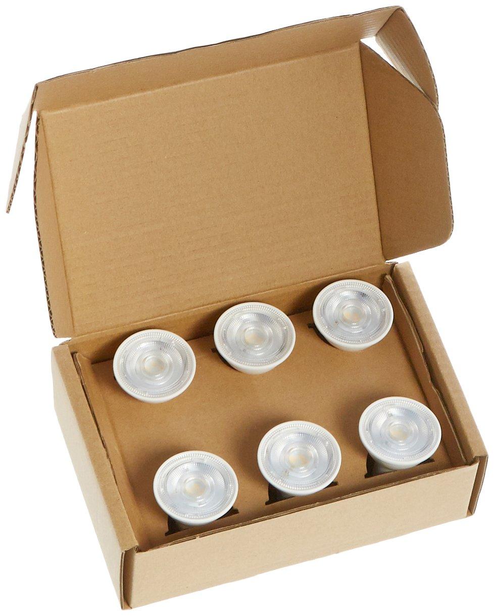 Bright White Basics 50 Watt Equivalent 6-Pack Dimmable Gu10 LED Light Bulb