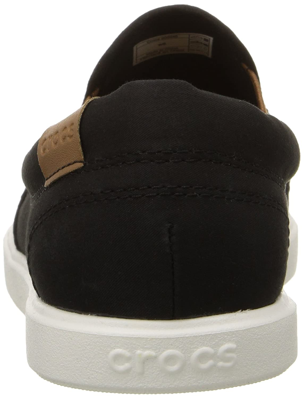 Crocs Damens Damen Citilane Slip-on Damens Crocs Sneaker Mehrfarbig (Leopard/schwarz) 9ba99c