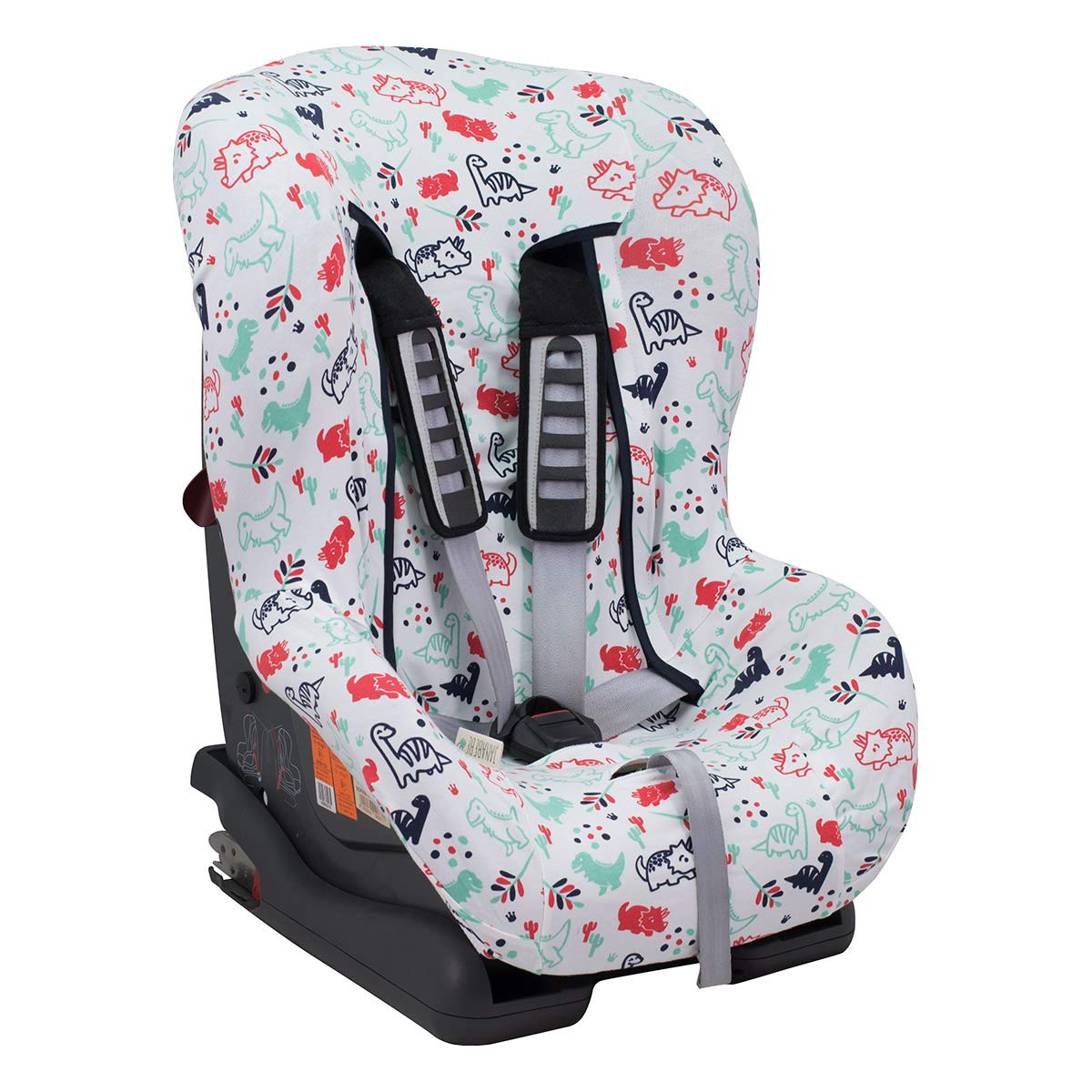 Dino Car Seat >> Universal Car Seat Cover Liner Britax Chicco Mico And More Dino Party