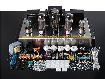 Nobsound Stereo EL34 Vacuum Tube Amplifier HiFi Single-ended Power Amp DIY  KIT