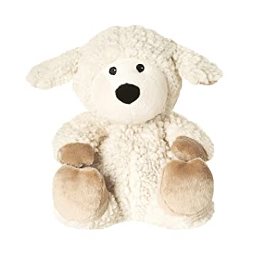 Warmies GRE-She-3, Peluche Térmico, Color Negro, marrón, Blanco T-Tex 31: Amazon.es: Juguetes y juegos